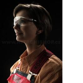 Polykarbonátové ochranné brýle čiré
