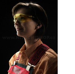 Polykarbonátové ochranné brýle žluté