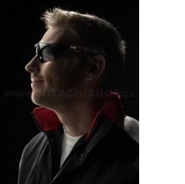 Polykarbonátové ochranné brýle tmavé